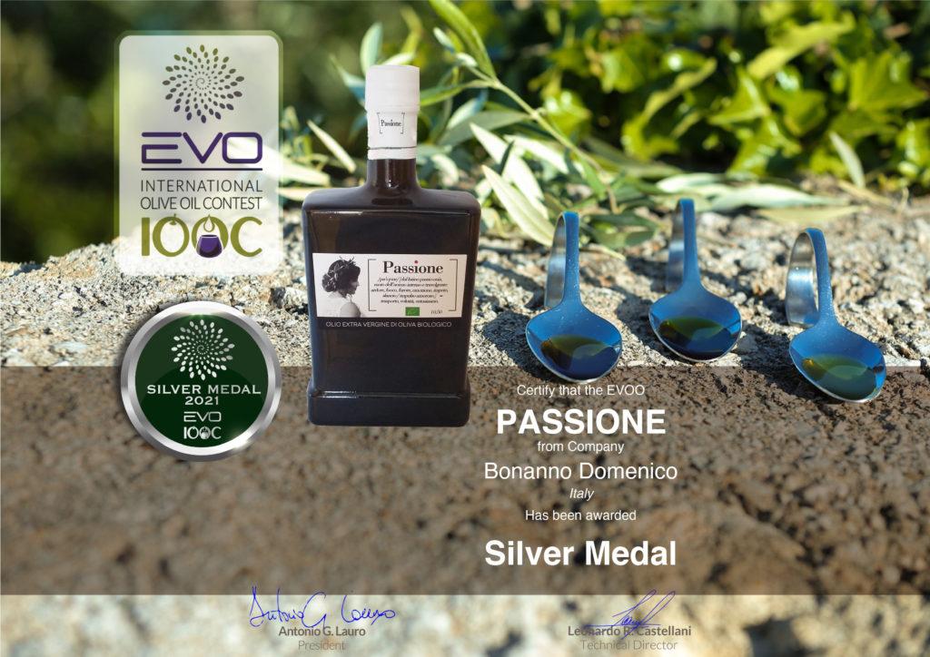 Premio EVOIOCC 2021 PASSIONE